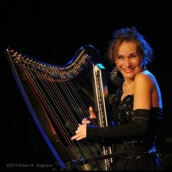 Harp & Soul – Harpist Stretches into the Blues