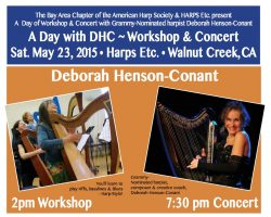 "Harps Etc. hosts ""A Day with DHC!"" on May 23, 2015"