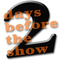 Show Countdown – with Foodie Blues