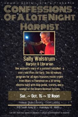 Confessions of a Late-Night Harpist (Sally Walstrum)