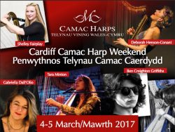 Rare U.K. Appearance at CAMAC Cardiff Weekend – Sun. March 5, 2017