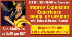 Improv Expansion Warm-up Webinar – FREE!