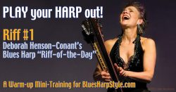 Blues Harp 'Riff-of-the-Day' – RIFF #1