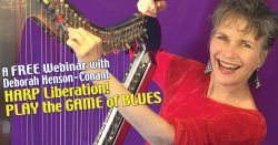 FREE WEBINAR for HARP Players: Play the Game of Blues