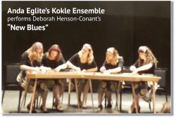 New Blues on 5-Part Kokle