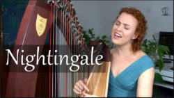 She's playing my song… Christy-Lyn performs 'The Nightingale'