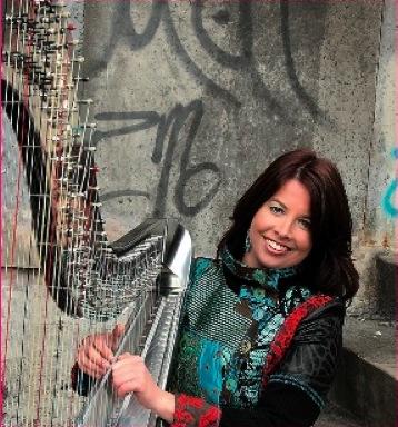 Sabine Meijiers – 4 Harp – 8 Hands in the Netherlands