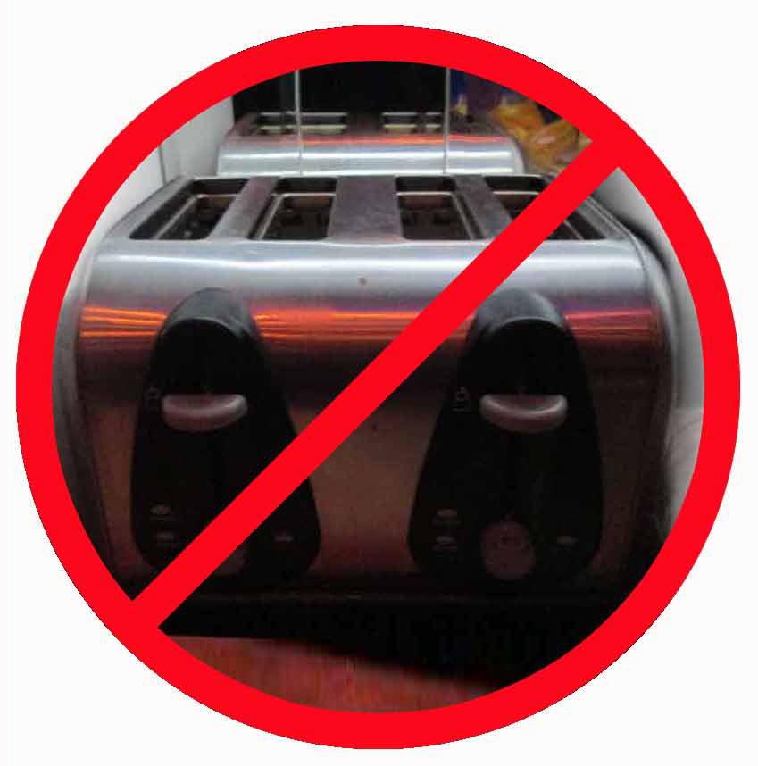 No Toast Zone