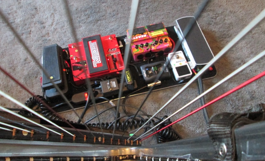 DHC's Pedal board (minus the looper)