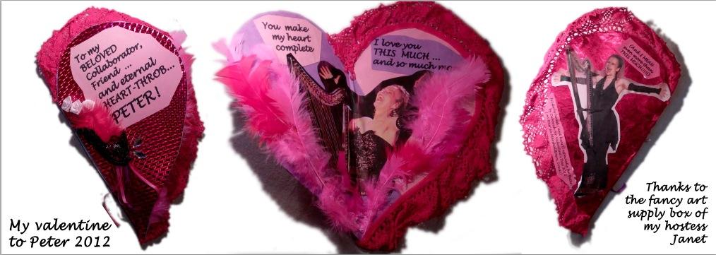 Valentine to Peter 2012 - triptych