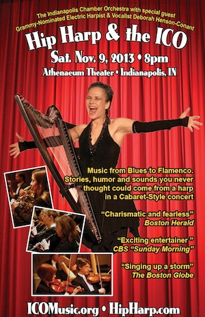 Electric Harp with Chamber Orchestra – Sat. Nov. 9 – Indianapolis, IN