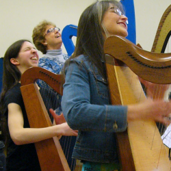 Instant Ensemble! All day Play-along Workshop for Harpists