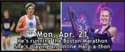 Harpathon marathon Monday