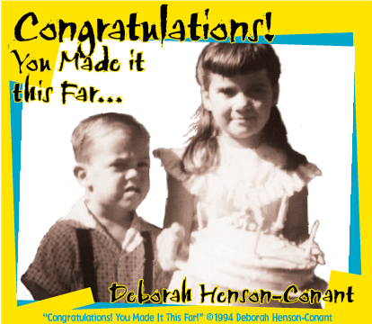 Congratulations, You Made it This Far! (MP3, CDs, Sheet Music, Hats & Giftwrap)