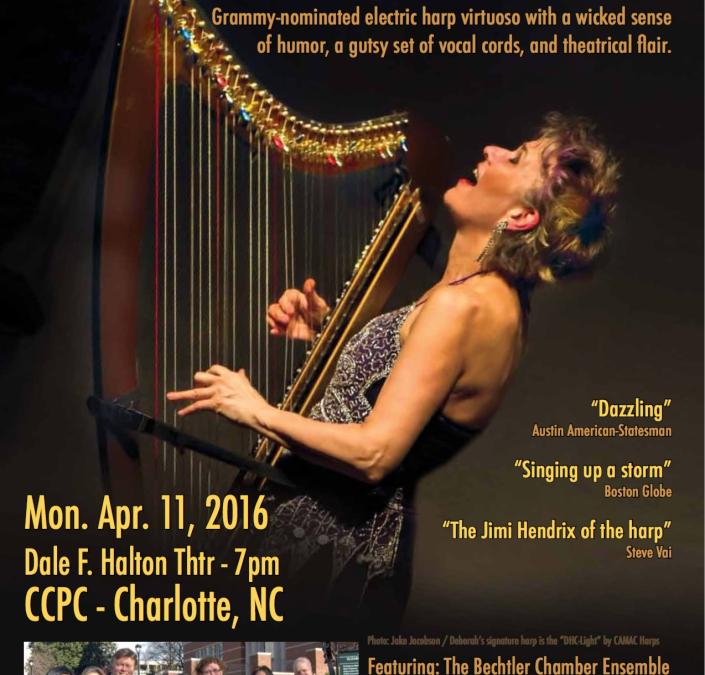 Performance at CPCC's Sensoria Mon. Apr. 11th