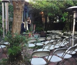 No Garden is Safe from Theatrical Transformation