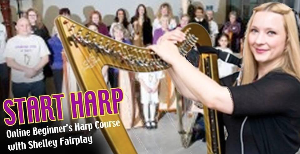 StartHarp.com – Shelley Fairplay brings the art of Starting Harp to the Internet