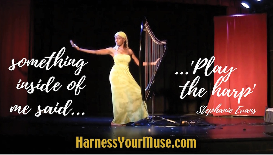 My Own Creative Voice – Stephanie Evans, A Year in 'Harness Your Muse'