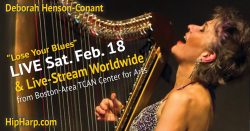 LIVE on Stage – Feb. 18 – Boston-Area – Deborah Henson-Conant – TCAN