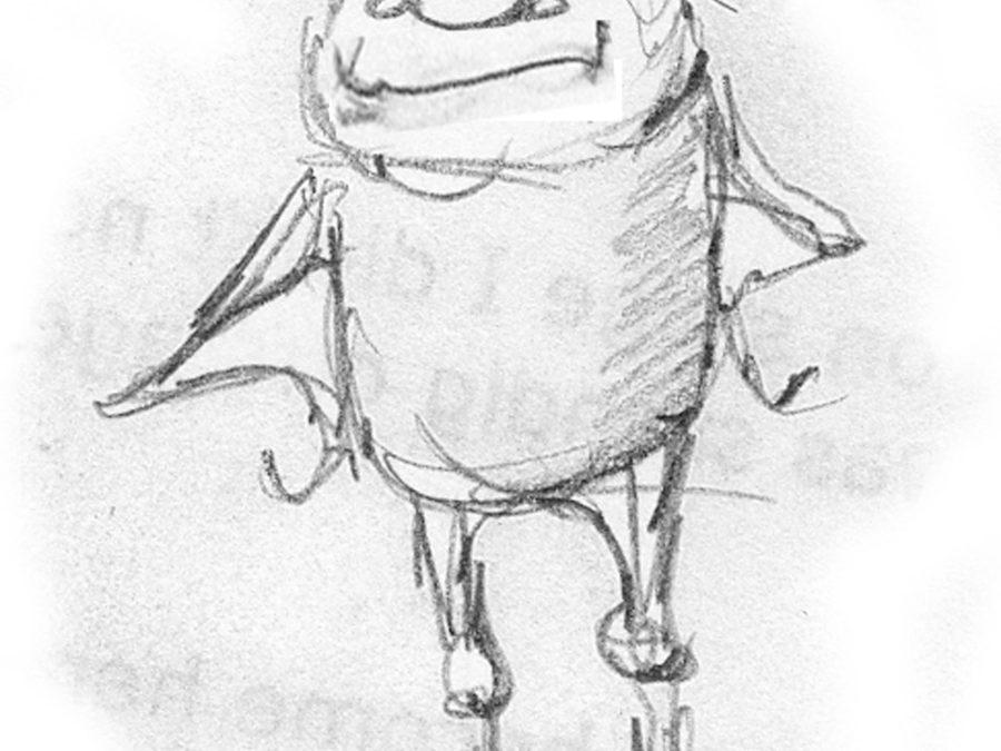 Happy Little Monster