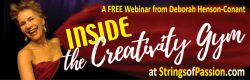 Inside the Creativity Gym – FREE Webinar – Sun. Jan. 8