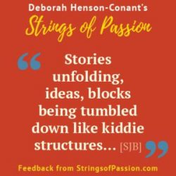 Feedback is IN. Are YOU? (Strings of Passion)
