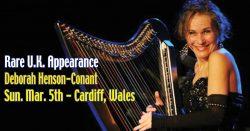 Inside … Brubecker for Cardiff CAMAC Harp Weekend Sun. March 5, 2017