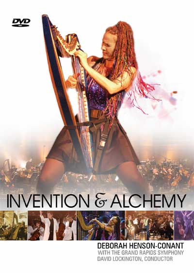 Invention and Alchemy DVD cover image