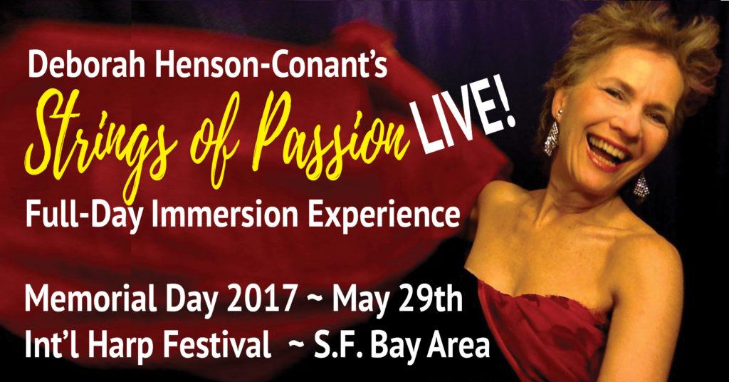 Strings of Passion -LIVE! Full-Day Workshop at International Harp Festival