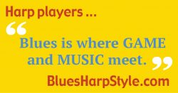Blues is where Game and Music Meet