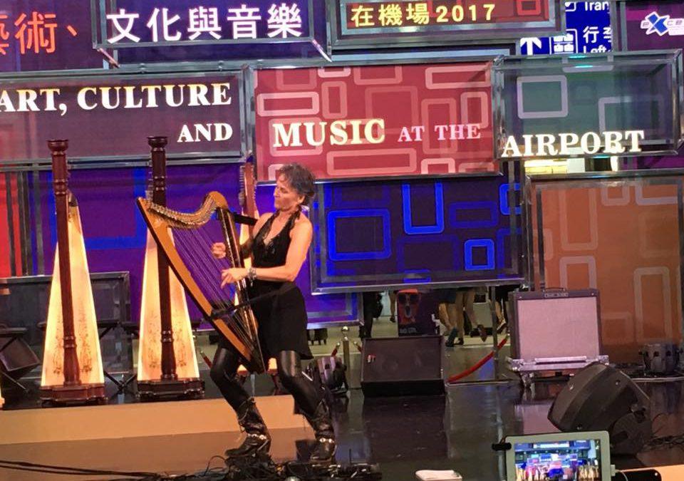A Concert at the Hong Kong Airport
