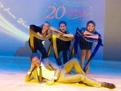 Our Favorite Harp Hunk – and Passionate Collaborations – in Hong Kong