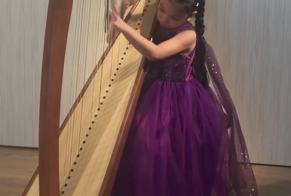 """She's playing my song… Kaitlyn Tan's """"Baroque Flamenco"""""""