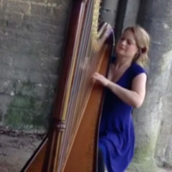 "She's playing my song… in a BARN! Eleanor Turner brings ""Baroque Flamenco"" to the stables"