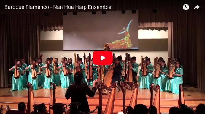 "They're playing my song… Nan Hua Harp Ensemble's ""Baroque Flamenco"""