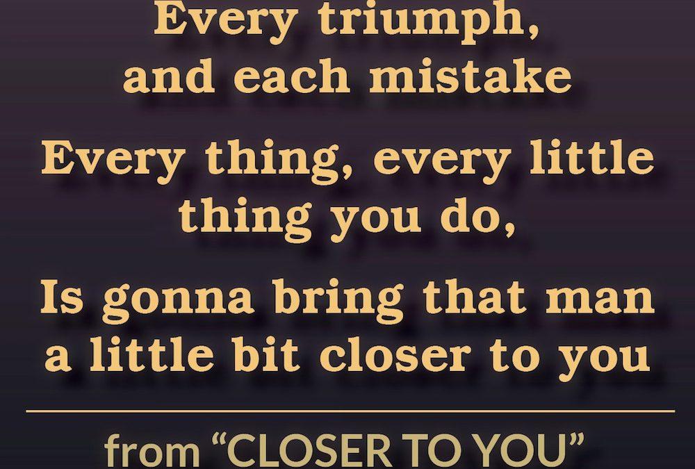 Closer to You (Lyrics)