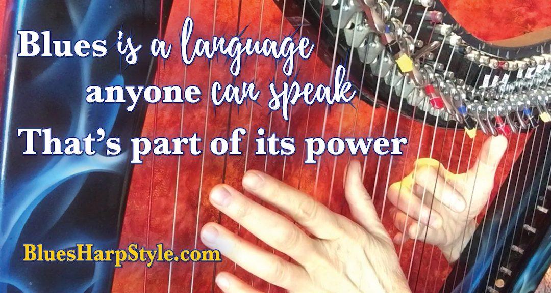 Blues is language