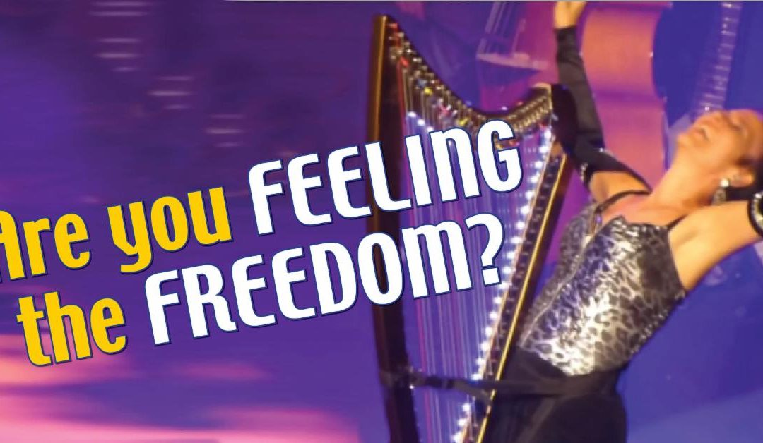 Are you feeling the freedom?
