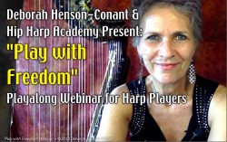 PLAY with FREEDOM – FREE Webinar for Harp Players