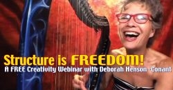 Structure is FREEDOM – FREE Webinar for Harp Players
