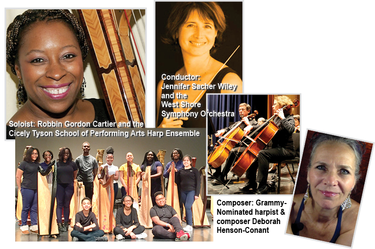 Collaboration: Composer, Performer, Symphony & Students | Deborah
