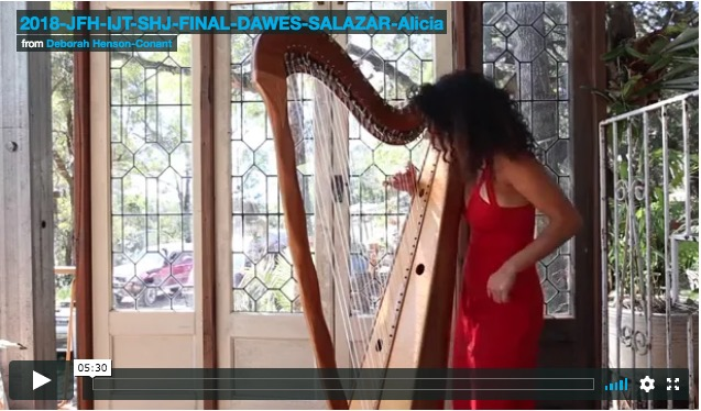 Jazz for Harps 2018 –  Final Beginning Projects