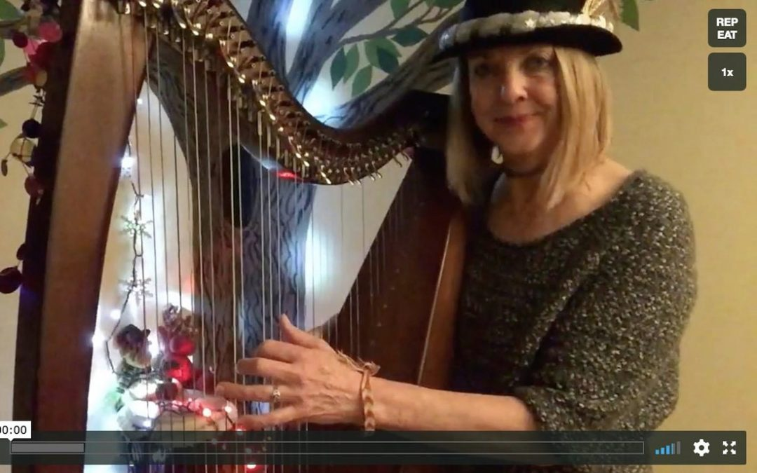 Holiday Greetings from Hip Harp Academy ~ Final-Beginning Projects (2018)