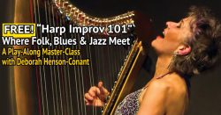 [FREE WEBINAR] Improv 101: Where Folk, Blues & Jazz Meet