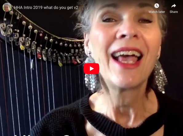 What do you GET with a Hip Harp Academy Full Year Membership?