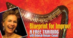 Blueprint for Improv- [LIVE ENCORE!] FREE Training for Harp Players