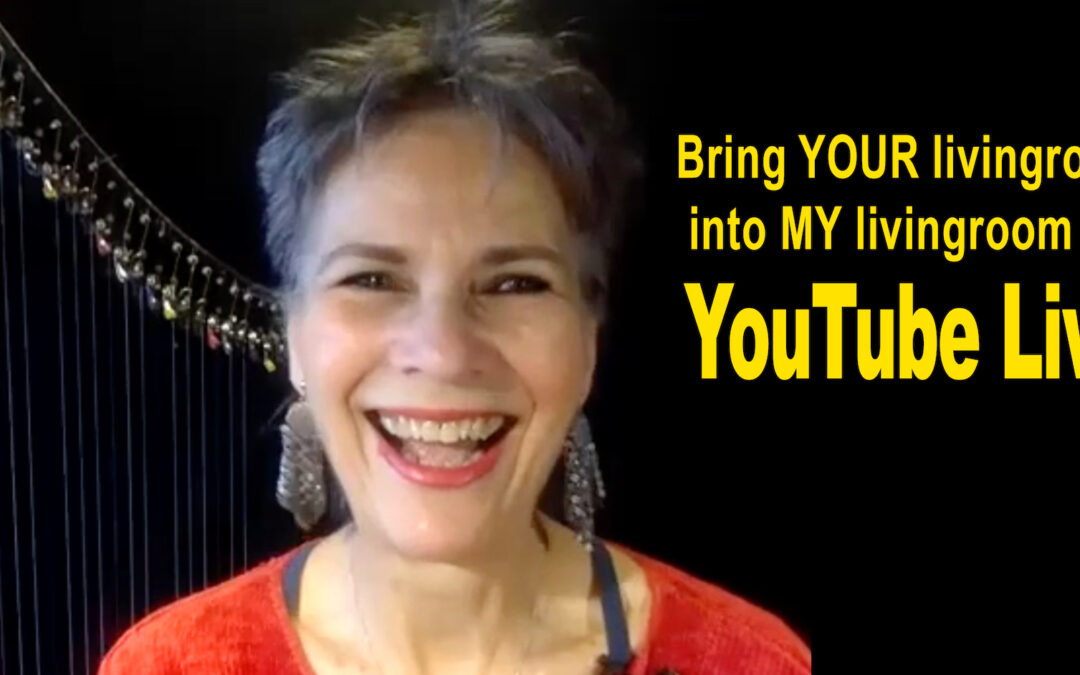 LIVE from My Living Room on YouTube LIVE – Sat. Apr. 25 – 4:30 pm EDT