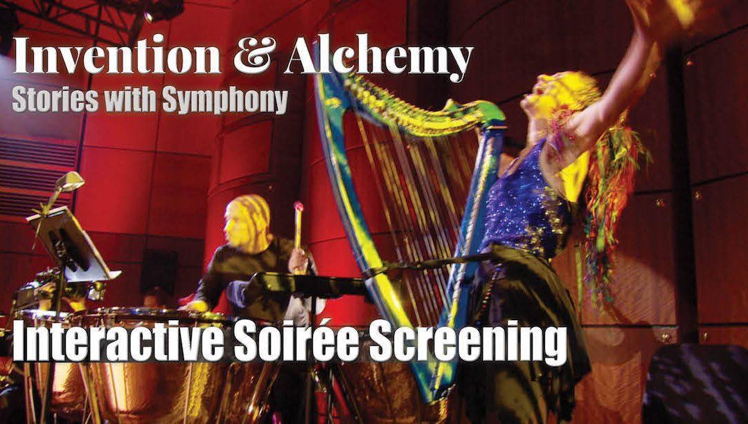 Invention & Alchemy Soirée Screening Invitation