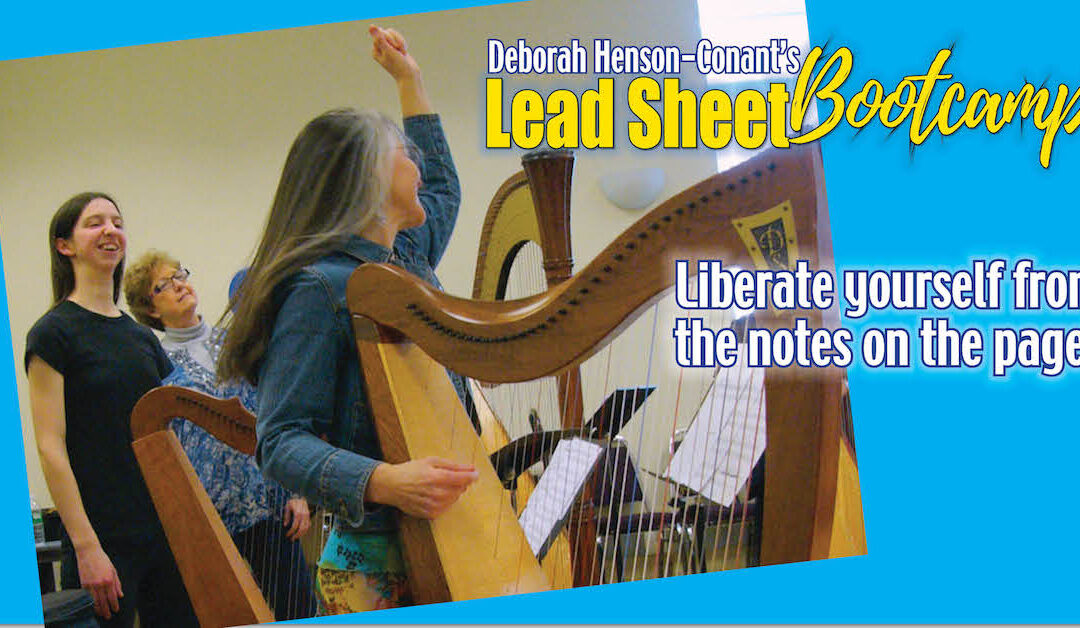 """Lead-Sheet Bootcamp"" at Hip Harp Academy"
