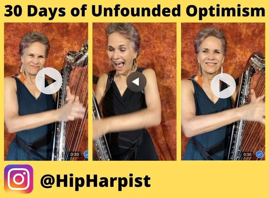 30 Days of Unfounded Optimism – A Personal Instagram Challenge